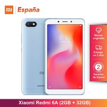 [Глобальная версия для Испании] Xiaomi Redmi 6A (Memoria interna de 32 GB, ram de 2 GB, Pantalla de 5,45 «, Camara de 13 MP) Movil