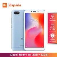 [Global Version for Spain] Xiaomi Redmi 6A (Memoria interna de 32GB, RAM de 2GB, Pantalla de 5,45 ,Camara de 13 MP) Movil