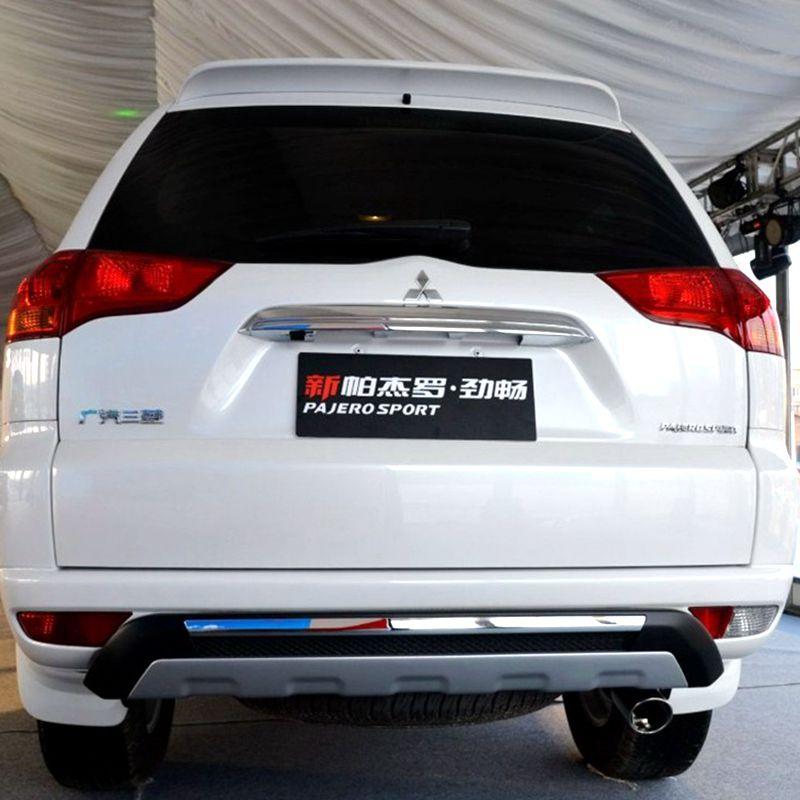 Mitsubishi Montero Pajero Sport Tailgate Spoiler Colour: ABS Plastic Unpainted Primer Tail Wing Rear Spoiler For