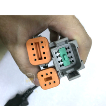 6Pin +8Pin Industrial Marine vodia 5  Diagnostic Tool cable for Volvo Penta Vodia Industrial Marine Engines