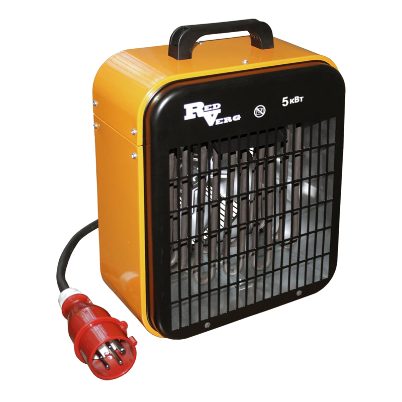 лучшая цена Gun thermal electric RedVerg RD-EHS5/380 (Mode fan without heat, steel housing)