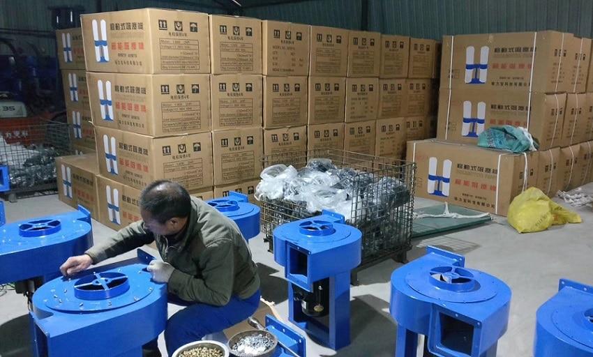 380V 3 фазы 50hz 3KW сборщик древесной пыли с двумя 4 пакета(ов