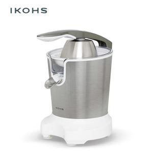 IKOHS ZUMIK ramię sokowirówka srebrna prasa lekko łatwa moc dokręć bez wysiłku dwa wyjmowane stożki wylot ze stali nierdzewnej