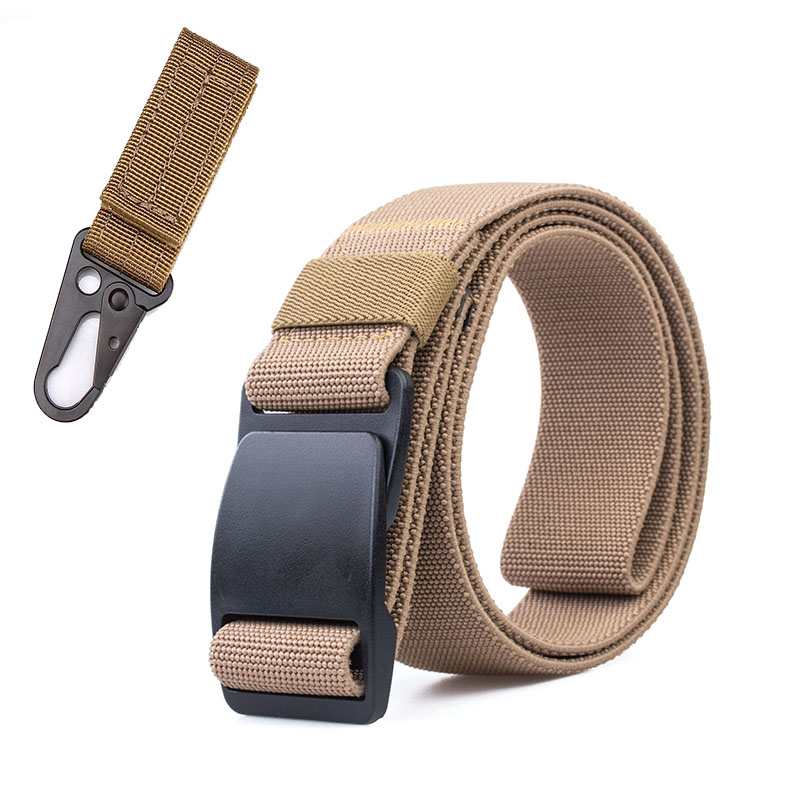 Tactical Belt 120CM Automatic Buckle Belt Nylon Belts SWAT Training Combat Waistbelt Adjustable <font><b>MOLLE</b></font> Belts Cinturon <font><b>Tactico</b></font> image