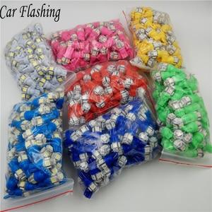 Car Flashing 100pcs Promotion T10 5 smd 1206 5led 5SMD Car signal LED Light 194 168 192 W5W 3020 12v Auto Wedge Lighting DC lamp