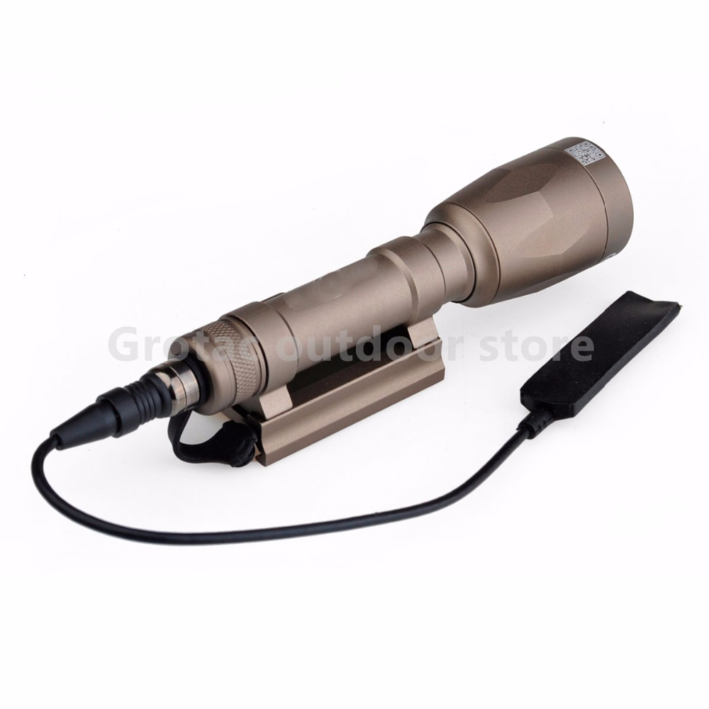 Element M620P Scout Light LED Weapon light Full Version Night Evolution Tactical Weapon Flashilight handheld Spotlight