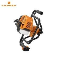 Мотобур CARVER AG 152/000 без шнека, d пос = 20 мм, 52 см куб