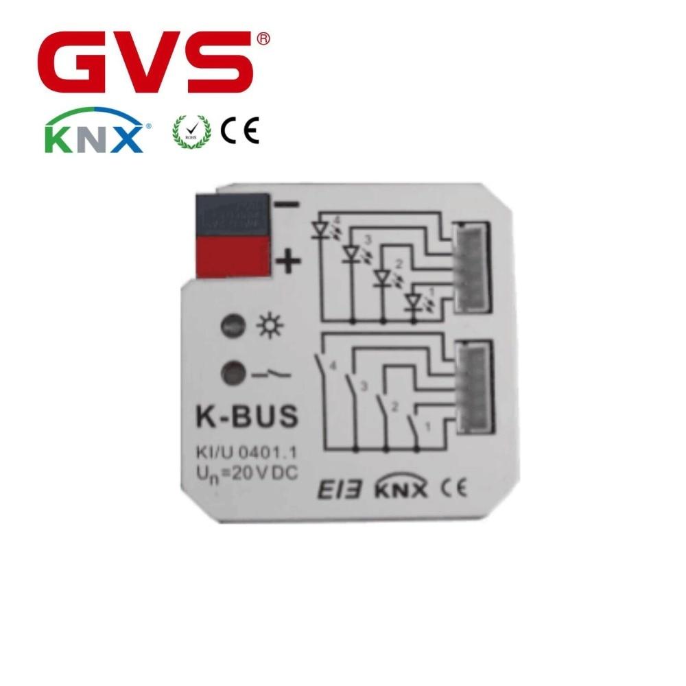 GVS KNX/EIB K bus 4 Складки Универсальный интерфейс в KNX умный дом автоматизации| |   | АлиЭкспресс