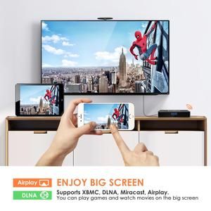 Image 4 - Originele Leelbox Q4 Plus TV BOX Smart 4 K Ultra HD 4G 64G Android 9.0 Movie WIFI Google cast Netflix Media Speler Set top Box