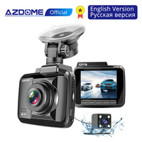 AZDOME GS63H 4K 2160P Dual Lens Built in GPS WiFi FHD 1080P Front + VGA Rear Camera Car DVR Recorder Dash Cam Night Vision