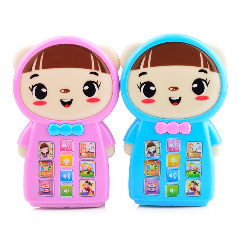 Russian Language Story Learning Machine,Children learning & educational Smart touch screen educational toys with light,2 colors