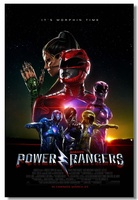 Custom Canvas Wall Murals Movie Power Rangers Poster Power Rangers Wall Stickers Samurai Wall Paper Kids