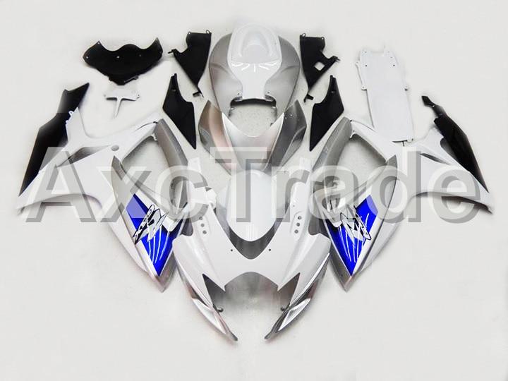 Motorcycle Fairings For Suzuki GSXR GSX-R 600 750 GSXR600 GSXR750 2006 2007 K6 ABS Plastic Injection Fairing Bodywork Kit 2201