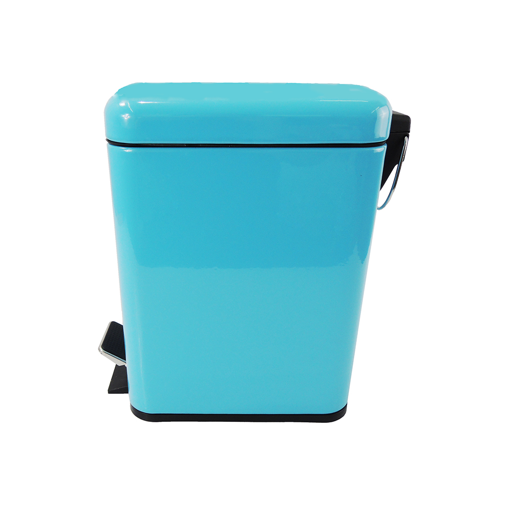 Rectangle Trash Can 5L Kitchen Bathroom Office Dustbins Garbage ...