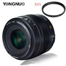 Yongnuo yn50mm 50mm f1.4n f1.4 e prime lente padrão af/mf, para nikon d3400 d5300 d7200 d750 d5600 d3200 d7100 d3300 d7200 d850