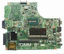 For Dell 3440 Series Laptop Motherboard 0RGV81 CN-0RGV81 i3 Processor цена и фото