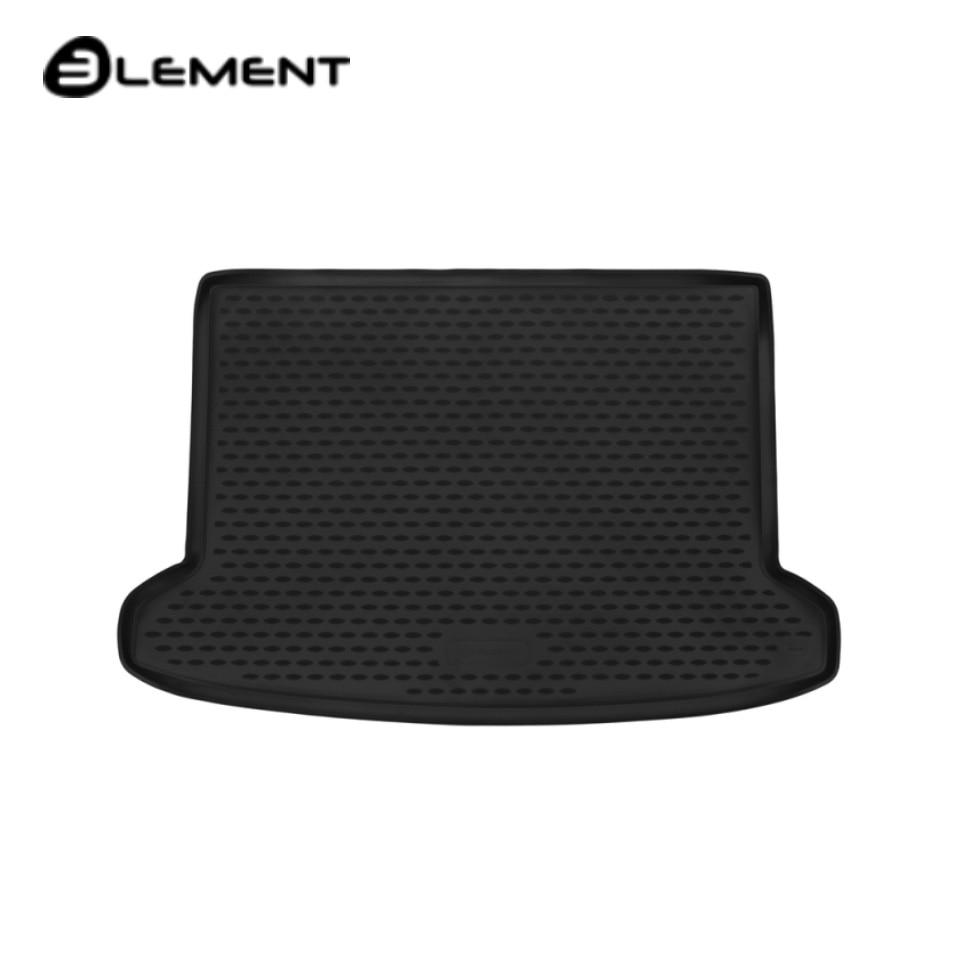 For Kia Rio X-Line 2017-2019 car trunk mat Element ELEMENT2565B11 gezatone прибор косметический galvanic beauty spa