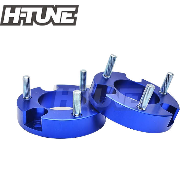 H-TUNE Suspension lift Kits 1inch Front Coil Strut Shock Spacer for Vigo Hilux 4WD 05-15 lift kit for toyota hilux revo