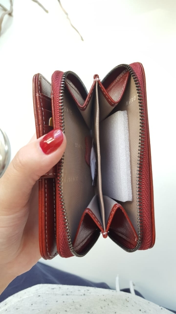 SENDEFN 2019 New Wallet Women Purse Brand Coin Purse Zipper Wallet Female Short Wallet Women Split Leather Purse Small Purse photo review