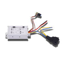 цена на PWM stepless variable speed DC motor governor, 12V24V pulse width motor driver, CW/CCW drive switch 10A120W