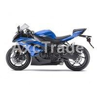 Motocykl Fairings Dla Kawasaki Ninja ZX6R 636 ZX-6R 2009 2010 2011 2012 09 10 11 12 Plastik ABS Wtrysku Fairing Nadwozie Kit