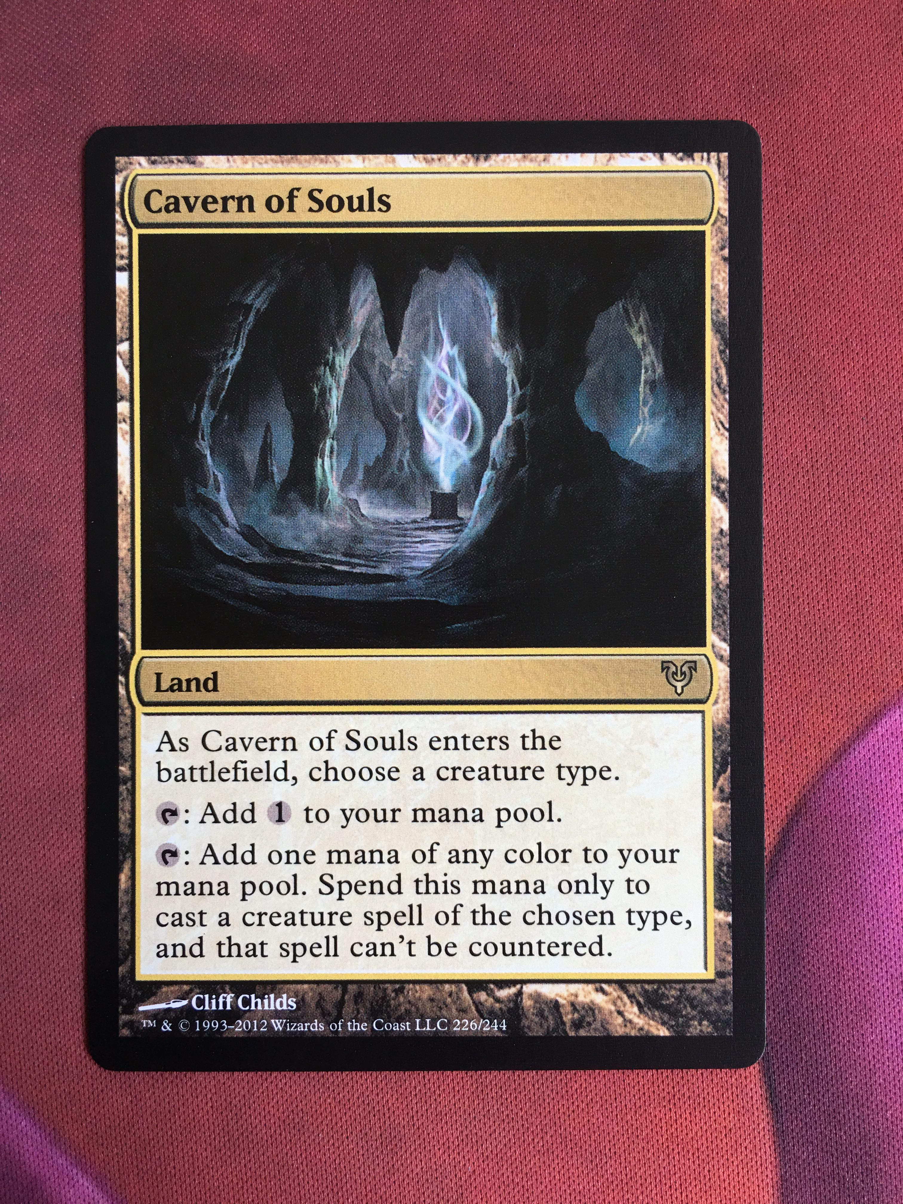 Cavern Of Souls Avacyn Restored Magician ProxyKing 8.0 VIP The Proxy Cards To Gathering Every Single Mg Card.