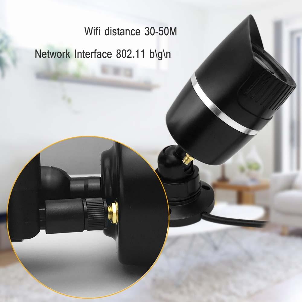 BFMore SONY IMX323 caméra IP sans fil TF emplacement pour carte Audio 1080 P caméras de sécurité Wifi sécurité caméra de Vision nocturne IR ip wifi