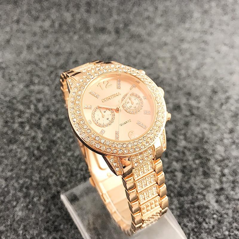 Diamond Bezel Смотреть Watch Luxury Brand - Әйелдер сағаттары - фото 3