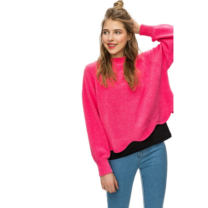 Sweaters jumper befree for female polyester sweater long sleeve women clothes apparel woman turtleneck pullover 1811493855-90 TF cutout dolman sleeve jumper