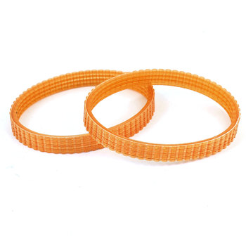 UXCELL 2Pcs 245 x 10mm Electric Planer Drive Driving Belt For Makita 1900B