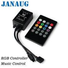 Светодиодный музыкальный контроллер 20 клавиш 12 24 В 72 Вт