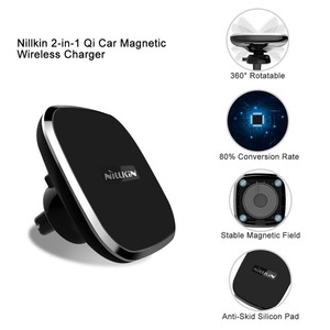 Image 2 - Nillkin Magnetic Car Wireless Charger Holder for iPhone 11 Xs Max Xr X for Galaxy S10 S9 Plus for Xiaomi Mi 9 for Huawei 5W