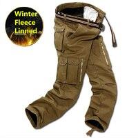 Winter Tactical Cargo Pants Men Military Clothing Tactico SWAT Mens Working Trousers Thick Warm Pants CS Pantalones Para hombre