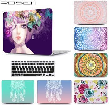 Funda para Macbook Pro 13 A1706 barra táctil A1708 2016 Air 11 12 Pro 13 15 Retina mate cristal duro Portátil Bolsa cubierta Color Shell