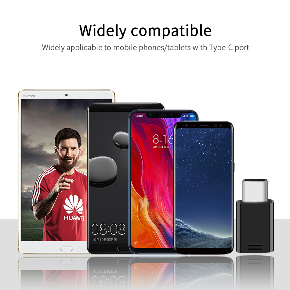 5Samsung S9 S8 plus Micro USB to USB Type C Adapter Converter Original Fast Charger Adapter Snelle Lading Note8 C5 C7 C9 pro