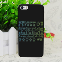 C0604 Ms-20 Patch Panel Transparent Hard Thin Case Skin Cover For Apple IPhone 4 4S 4G 5 5G 5S SE 5C 6 6S Plus