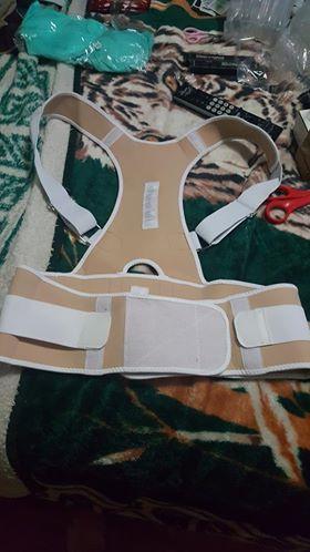 Aptoco магнитотерапия Корректор осанки Брейс плеча сзади Поддержка ремень для Для мужчин Для женщин подтяжки и Поддержка s ремень на плечо положения