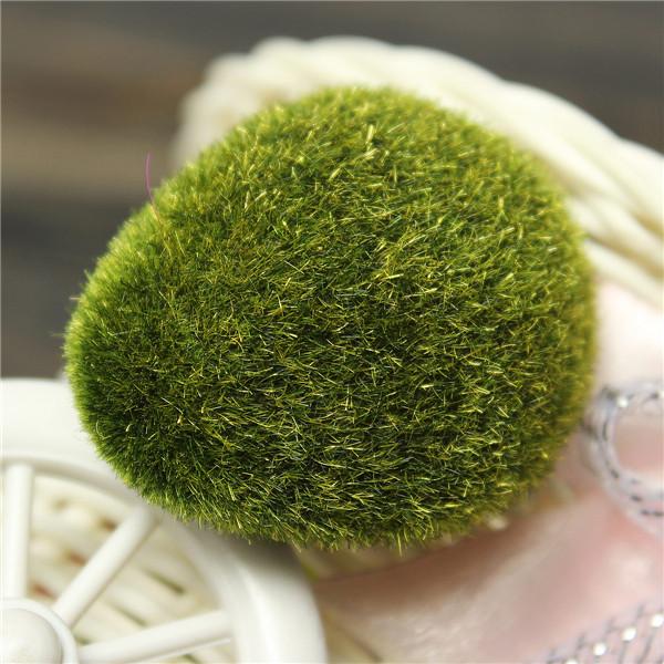 hierba maceta briofitas musgo artificial piedras decoracin diy maceta bonsai planta en maceta bonsai jardn de