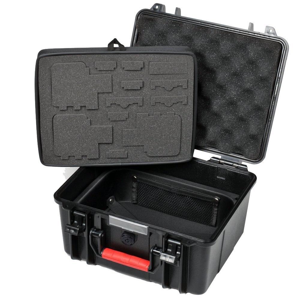 Smatree GA700-3 Waterproof Hard Box Carry Case For Gopro Hero 7/6/5/4/3+,for Xiaomi Yi 4K/SJCAM Action Camera Case