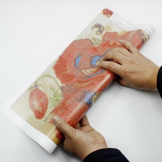 5d Diy Diamond Painting krustdūrienu džeka ķirbju rhinestones - Māksla, amatniecība un šūšana - Foto 5