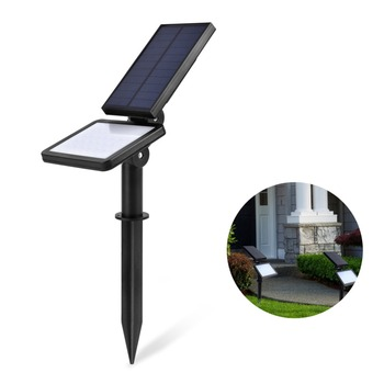 LEDGLE 1,6 W Ip65 Водонепроницаемый 48LED супер яркий Сенсор светильники индукции открытый Солнечный свет настенный светильник-прожектор заливающе...