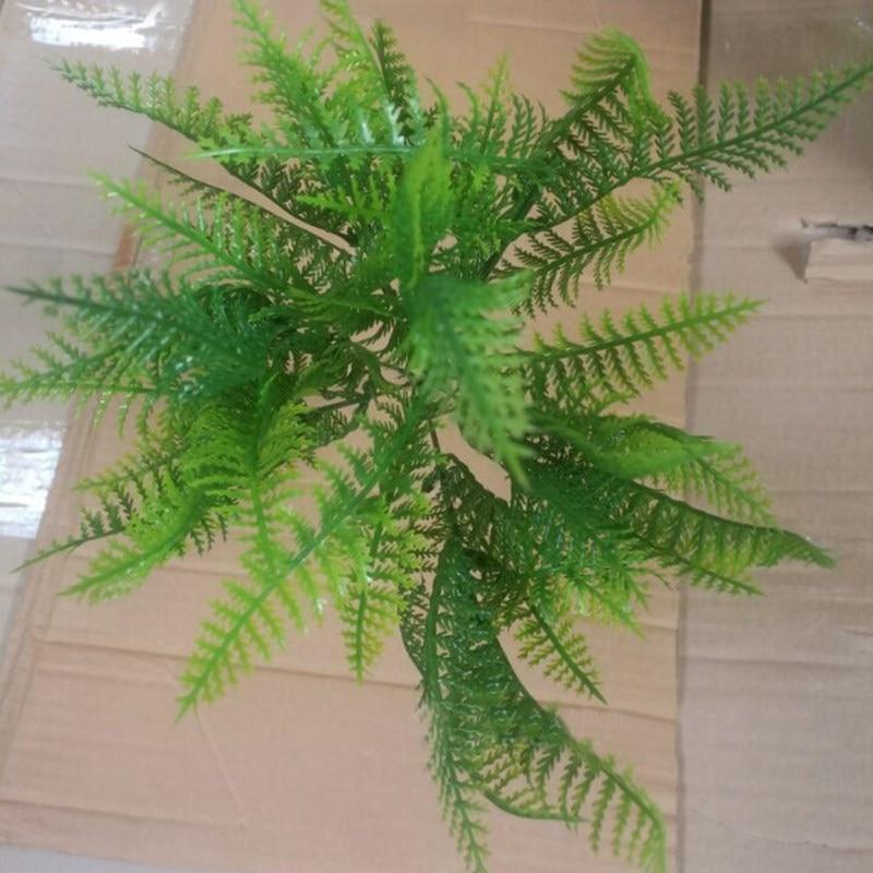 silk plastic artificial foliage plants 45cm aquatic plant pine