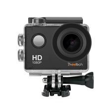 Dveetech Sports Action Camera Wifi Waterproof 30M 1080p Full HD Underwater Cam Mini Portable Camcorder DVR video for Bicycle