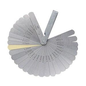 Image 5 - JIGONG manomètre pour outil de mesure, 32 lames, jauge dépaisseur de 0.04 à 0.88mm