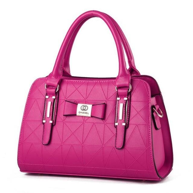 Women Handbag PU Leather Shoulder Bags Lady Large Capacity Crossbody Office Hand Bag 3