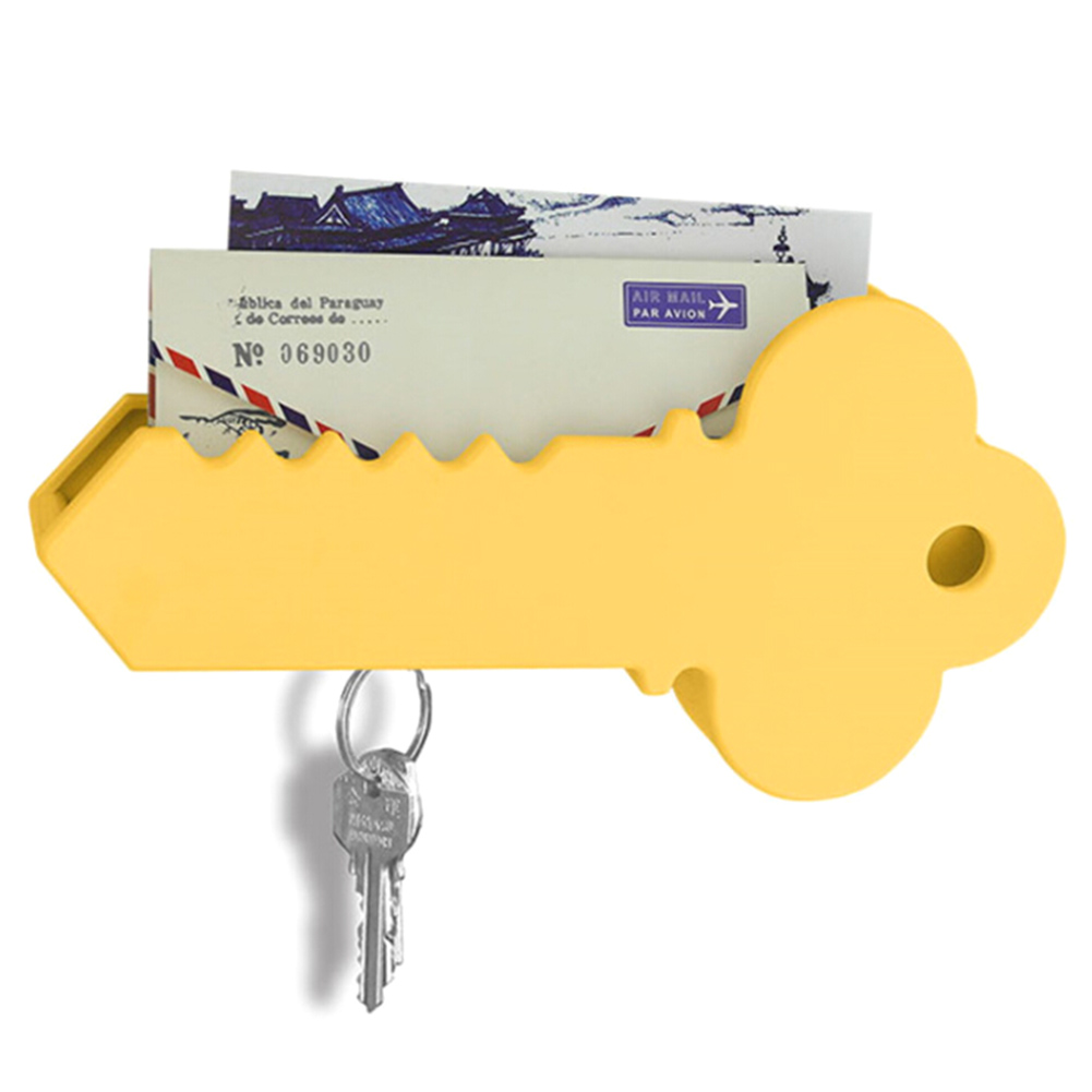 Creative Wall Mounted Magnet Giant Key Holder Organizer Rack Mail ...