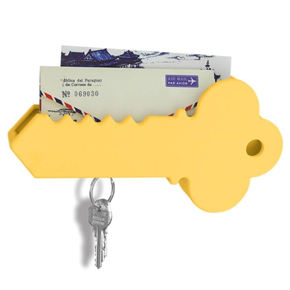 Magnetic Key Holder Stand Mail Box Organizer Giant Key Shape ...