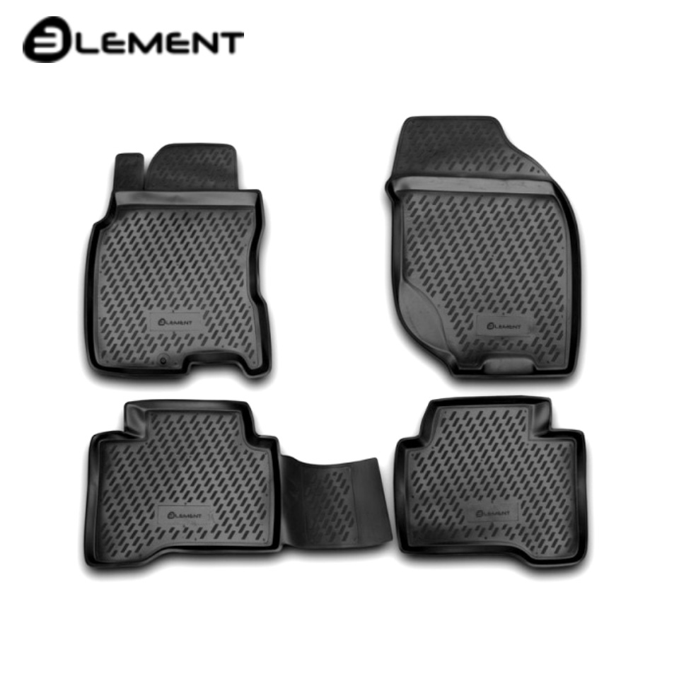 For Nissan X-Trail T30 2001-2007 floor mats into saloon 4 pcs/set Element CARNIS00033