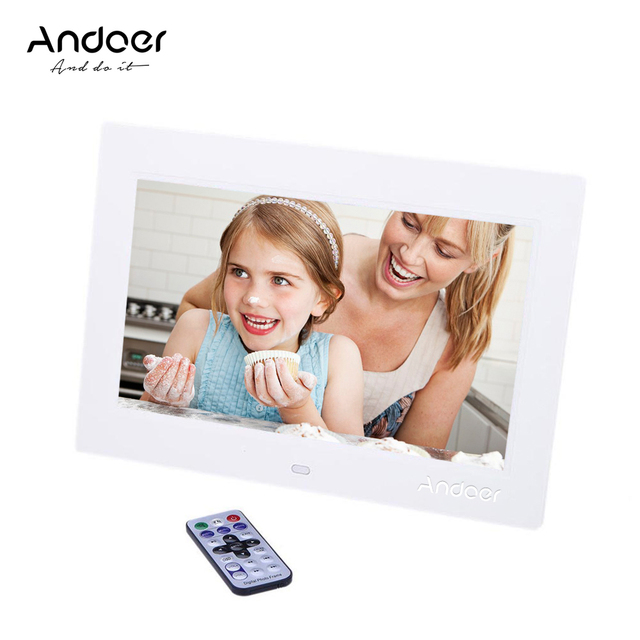 Andoer 10\'\' Digital Picture Frame 1024*600 HD TFT LCD Digital Photo ...