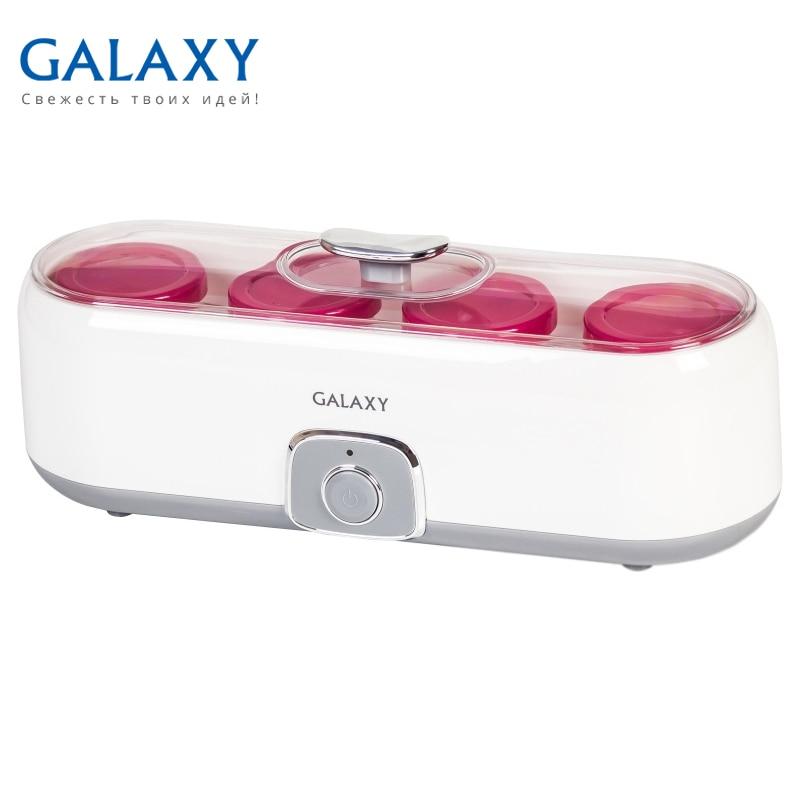 Yogurt maker Galaxy GL 2696 bear household intelligent yogurt makers with 8 ceramic sub cup large fully automatic yogurt rice wine natto making machine